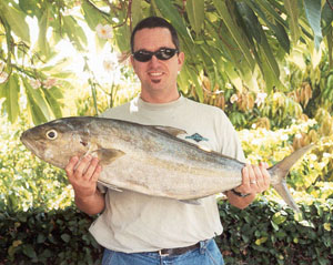 My 20 lb. Kahala shot on 11-17-02!